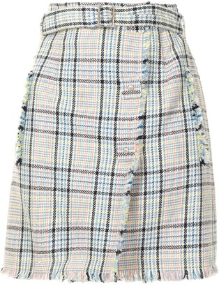 PortsPURE Checked Mini Skirt