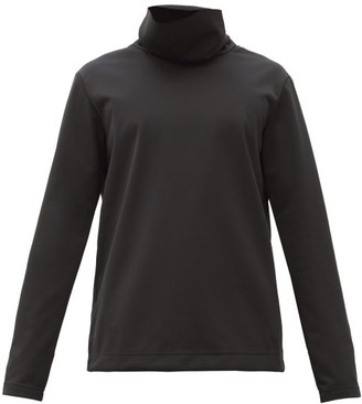 TEMPLA Tildas High-neck Jersey Thermal Top - Black