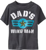 """Old Navy """"Dad's Wing Man"""" Tees for Baby"""