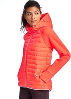 Gap PrimaLoft® performance fleece zip hooded puffer jacket