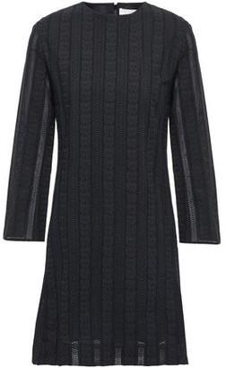 Chloé Crocheted Cotton Mini Dress