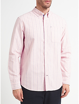 John Lewis Striped Cotton Oxford Shirt