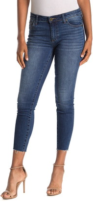 KUT from the Kloth Carlo Raw Crop Hem Skinny Jeans