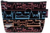 Harrods Neon City Travel Pouch
