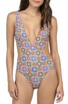 Volcom Women's Current State One-Piece Swimsuit
