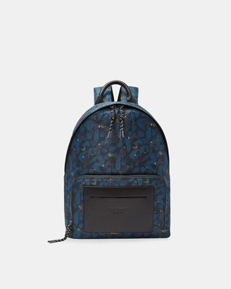 Ted Baker Printed Backpack