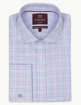 M&S Collection LuxuryMarks and Spencer Pure Cotton Tailored Fit Shirt