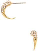 Rebecca Minkoff Pave Hook Drop Earrings