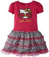 Hello Kitty Tutu Dress (Toddler) - Fuchsia Purple-4T