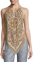 Robert Graham Women's Silk Sleeveless Top