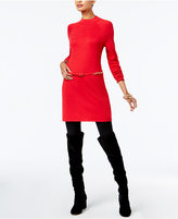 INC International Concepts Belted Sweater Tunic, Created for Macy's