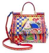 Dolce & Gabbana Dauphine Mosaic Leather Satchel