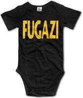 TLK Baby Onesie TLK Fugazi Punk Band Babys Bodysuit Outfits Size 6 M