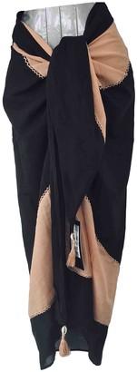Vix Paula Hermanny Black Cotton Swimwear for Women