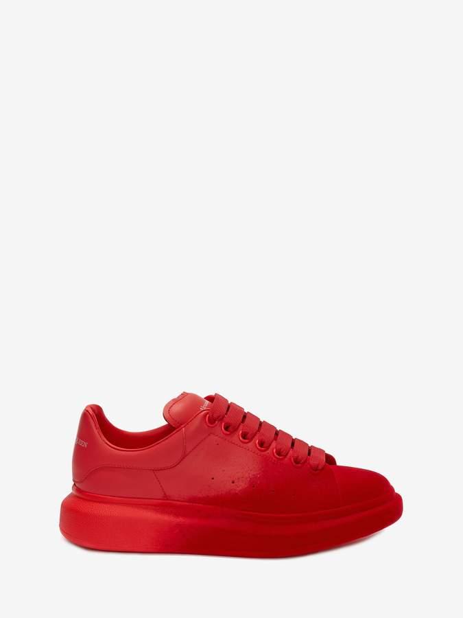 red alexander mcqueen trainers Online