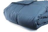 Melange Home 233 Thread Count Cotton Shell Cloud Down Alternative Comforter - Rock Blue