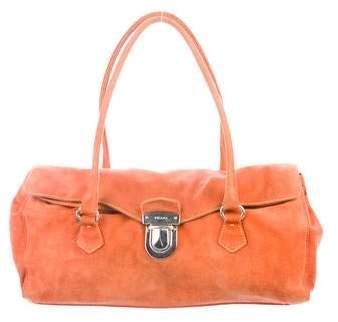 695ec28be9c9 Prada Orange Handbags - ShopStyle