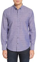 Zachary Prell Men's Chernow Trim Fit Print Sport Shirt