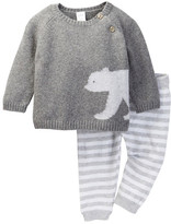Nordstrom Patterned Sweater & Pant Set (Baby)