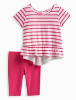Splendid Baby Girl Stripe Top with Solid Legging Set