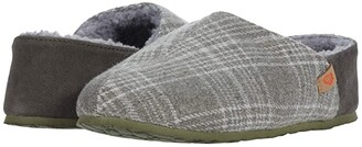 Acorn Parker Plaid Hoodback + Bloom (Grey Plaid) Women's Shoes