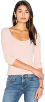 Lacausa Julia Top in Rose. - size L (also in M,XS)