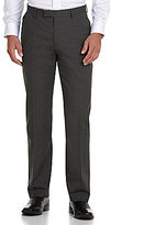Murano Flat-Front Houndstooth Pants