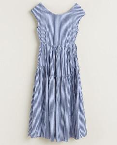 Bellerose Pause Blue Dress - Size 0 UK6