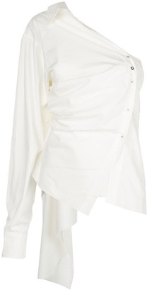 Marques Almeida Asymmetric Deconstructed Shirt