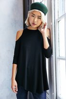 Kimchi & Blue Kimchi Blue Tyra Cold Shoulder Tunic Top