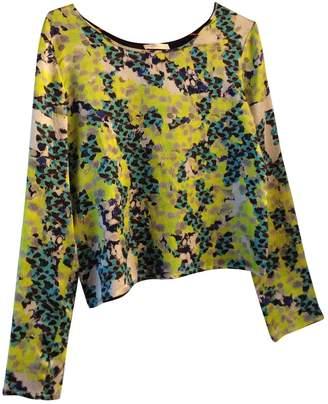 Michael Van Der Ham Multicolour Silk Top for Women