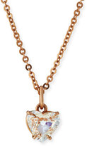 Anita Ko Diamond Heart Pendant Necklace in 18K Rose Gold