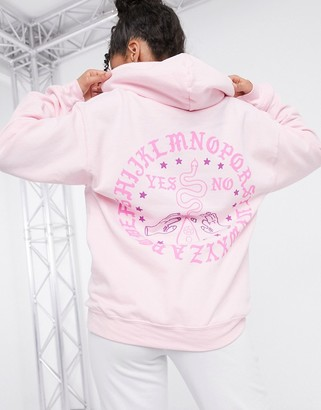 Honour HNR LDN oversized hoodie with back print