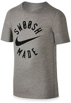 Nike Boys' Swoosh Made Tee - Big Kid