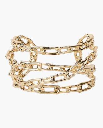 Alexis Bittar Chain Link Cuff Bracelet