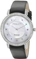 Johan Eric Women's JE7000-04-009.11 Ribe Analog Display Quartz Black Watch
