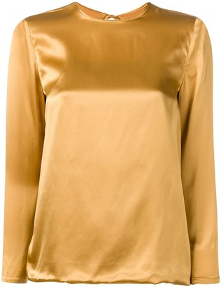 Marques Almeida Back Tie Fastened Blouse