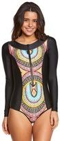 Body Glove Women's Culture Sand Bar L/S One Piece Swimsuit 8151428