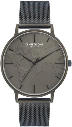 Kenneth Cole New York Men's Green Mesh Watch