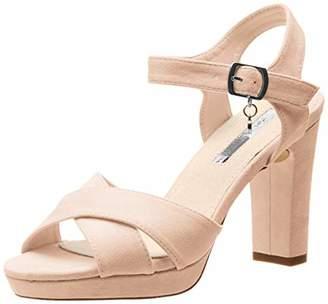 Xti Women's 32035 Sling Back Heels, Yellow Amarillo