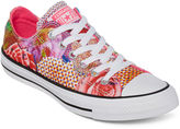 Converse Chuck Taylor All Star Womens Pink Floral Sneakers