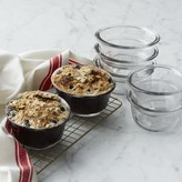 Williams-Sonoma Williams Sonoma Oval Glass Baking Cups, Set of 4