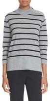 Kate Spade Stripe Wool Swing Sweater