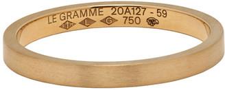 Le Gramme Gold Le 3 Grammes Ribbon Ring