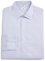 Brooks Brothers Non-Iron Twin Stripe Classic Fit Dress Shirt