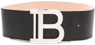 Balmain Logo-Buckle Belt