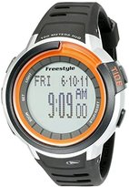 Freestyle Unisex 10022919 Mariner Tide Digital Display Japanese Quartz Black Watch