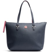 Tommy Hilfiger Medallion Leather Tote