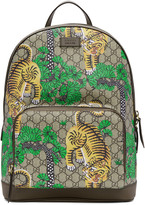 Gucci Multicolor Gg Supreme Bengal Backpack