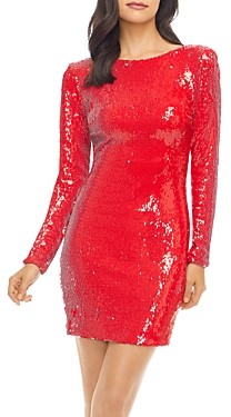 Dress the Population Lola Sequined Mini Dress
